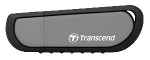 Transcend JetFlash Vault 100 8GB 8GB USB 3.0 (3.1 Gen 1) Capacity Černá, Šedá USB paměť