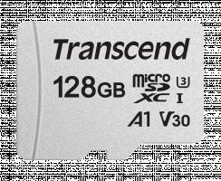 Transcend 128GB microSDXC 300S UHS-I U3 V30 A1 Paměťová karta