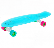 Hudora 12144 Skateboard Retro Iceglow