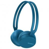 Sony CH400 bezdrátová sluchátka modrá