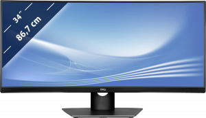 Dell P3418HW IPS zahnutý