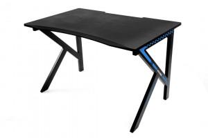 AKRACING ANVIL  počítačový stolek. barva černo-modrá