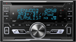 Kenwood DPX-7100DAB autorádio černé