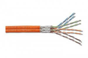 Digitus PIMF Installation Cable, CAT 7,LSZH,AWG 23,DUPLEX,buben 500m