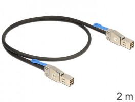 Delock kabel Mini SAS HD SFF-8644 > Mini SAS HD SFF-8644 2 m