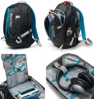 "Dicota Backpack Active 14"" - 15.6"" black/blue"