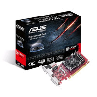 ASUS Radeon R7 240, 4GB GDDR5 (128 Bit), HDMI, DVI, D-Sub Grafická karta