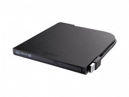 Buffalo DVSM-PT58U2VB-EU Přenosná DVD mechanika 8X ULTRA-SLIM USB2.0 PORTABLE