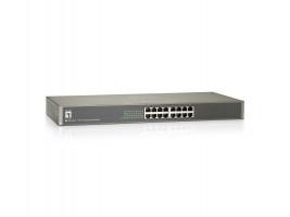 Level One FSW-1650 19 16-Port 10/100Mbps Switch