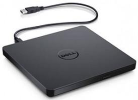 DELL externí slim mechanika DVDRW/ 8x/ Standard/ USB/ černá