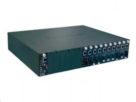 TRENDnet 16-Bay Fiber Converter Chassis System
