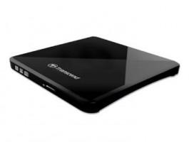 Transcend slim externí DVD+/-RW 8x, DL, 13.9mm, napájeno z USB, černá, retail+SW