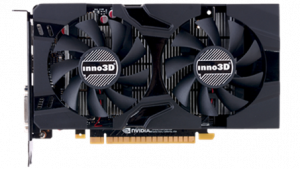 Inno3D GeForce GTX 1050 Ti TwinX2 4GB, DP 1.2+HDMI 2.0+DL-DVI-I