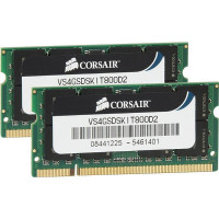 Corsair DDR2 4GB 800Mhz SODIMM Kit