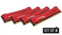 DIMM DDR3 32GB 1600MHz CL9 (Kit of 4) XMP KINGSTON HyperX Savage (HX316C9SRK4/32)