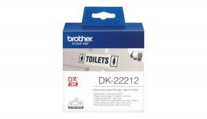 Brother DK-22212, etikety