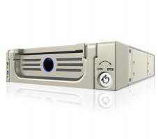 """Icy Box Mobile Rack pro 3,5"""" SATA HDD, béžová barva"""