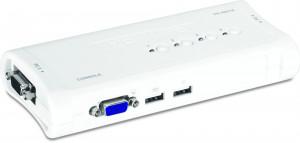 TRENDnet 4-Port USB KVM Switch sada