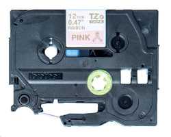 BROTHER páska TZE-RE34 / zlatá-růžová / 12mm