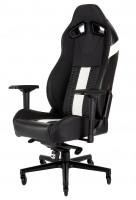 Corsair Gaming T2 ROAD WARRIOR, černá/bílá, herní židle