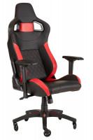 Corsair T1 Race Herní židle, černočervená