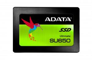 "ADATA SU650 480GB SSD / Interní / 2,5"" / SATAIII / 3D NAND"
