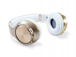 Conceptronic CHSPBTNFCSPKG zlatá, sluchátka