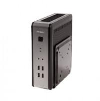 Antec ISK110 VESA-U3, Desktop, 90W, Černá, Stříbrná, Počítačová skříň