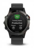 Garmin fenix 5 Gray Optic , Black band