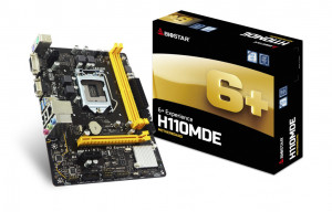Biostar H110MDE Intel H110 LGA 1151 (Socket H4) Micro ATX základní deska