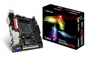 Biostar X470 GTN, AMD X470, základní deska
