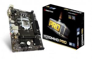 Biostar H310MHD Pro Intel® H310 LGA 1151 (Socket H4) Micro ATX základní deska