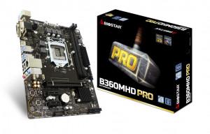 Biostar B360MHD Pro Intel B360 LGA 1151 (Socket H4) Micro ATX základní deska