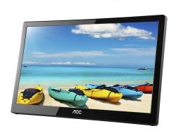 "15.6"" AOC I1659FWUX Full HD LCD/TFT plochý počítačový monitor, černá"