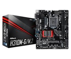 ASRock H310M-G/M.2 Intel H310 LGA 1151 (Socket H4) Micro ATX