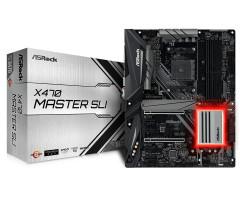 ASRock X470 MASTER SLI / AM4 / 4x DDR4 DIMM / HDMI / M.2 / USB Type-C / ATX