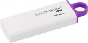 Kingston DataTraveler G4 64GB fialová, USB flash disk