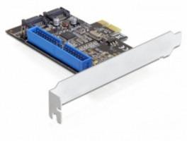 Delock PCI Express karta > 2 x interní SATA 6 Gb/s + 1 x interní IDE