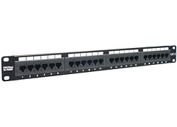 TRENDnet 24-port Cat6 Unshielded Patch Panel