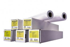 HP C6036A Papwe Bright White Inkjet Roll, A0, 45m, 90g