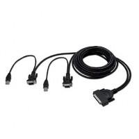Belkin Omniview Enterprise Series Dual-Port USB KVM Kabel 1.8m