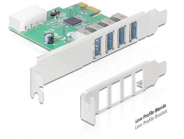 Delock card pci express -> 4x USB 3.0