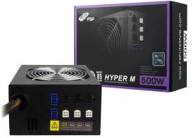 Fortron HYPER M 500, 500W, PCI-E, >85%, modular