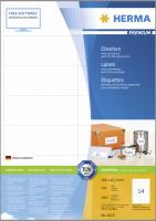 Herma Premium Labels 105x42,3 200 Sheets DIN A4 2800 ks