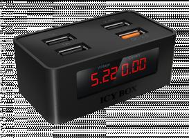 Raidsonic IB-CH403 USB Quick Charger