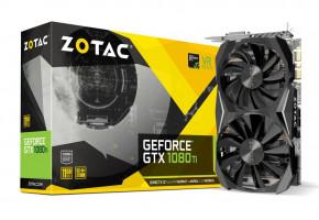 ZOTAC GeForce GTX 1080 Ti mini, 11GB GDDR5X, ATX, DVI-D, HDMI, DP
