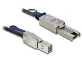 Delock Cable Mini SAS HD SFF-8644 > Mini SAS SFF-8088 1 m - 83734