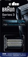 Braun Series 3 30B náhradní holící folie