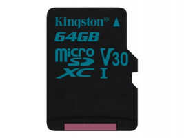 Kingston Canvas Flash card Micro-SD 64GB