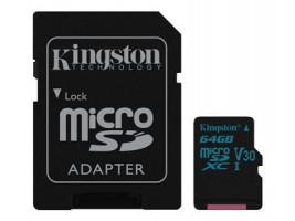 Kingston Canvas Flash card Micro-SD 64GB